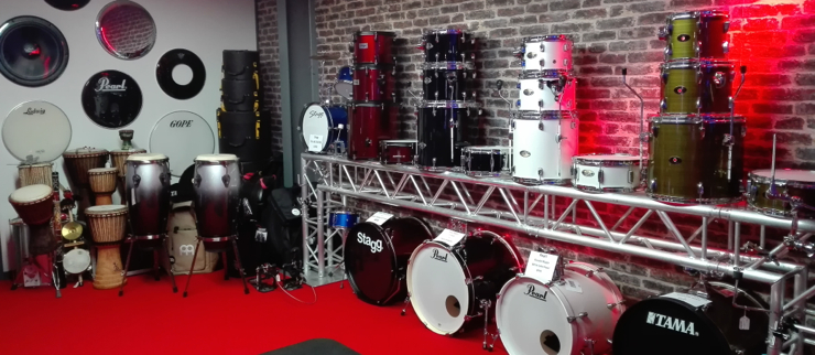 Batterie, Percussion, Cymbales, ...