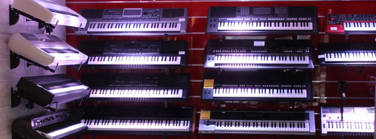 Korg, Yamaha, Roland, Nord, Arturia, ...