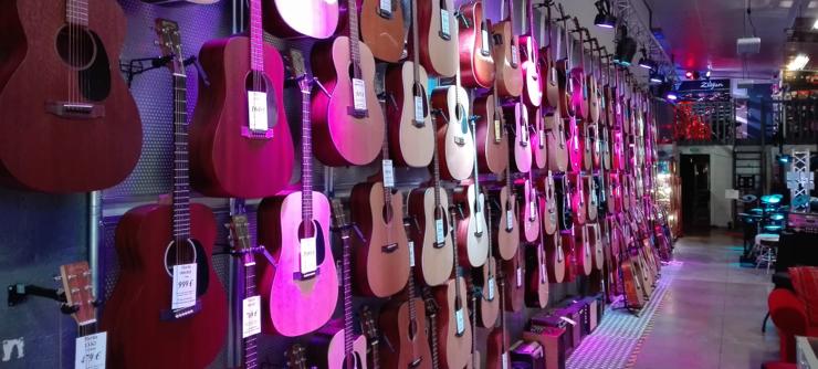 Guitare Folk, Guitare Classique, Guitare Jazz, ...