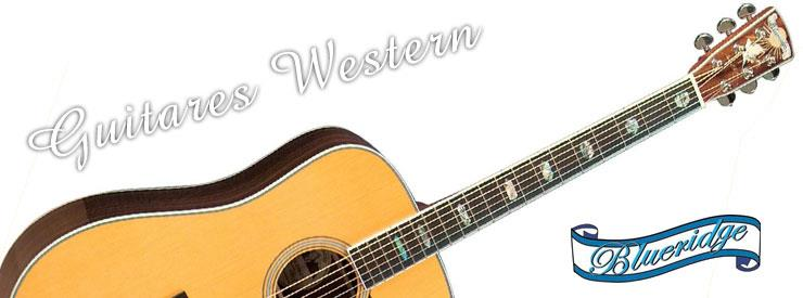 Nos guitares western Blueridge