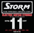 Voir la fiche STORM CORDES ELECTRIQUE  EXTRA LIGHT 