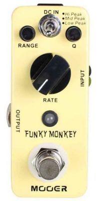 Effets Instruments Pédale MOOER Funky Monkey (Auto Wah pedal)