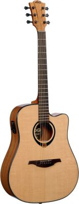 Guitare Folk/Western LAG T 80 DCE