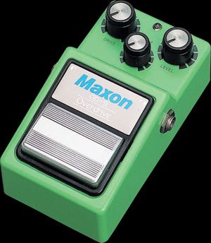 Effets Instruments MAXON OD9 OVERDRIVE