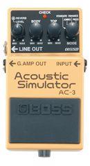 Effets Instruments AC3 ACOUSTIC SIMULATOR
