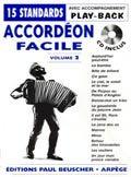 Librairie musicale ACCORDEON FACILE VOL2 + CD