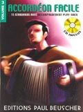 Librairie musicale ACCORDEON FACILE VOL3 +CD
