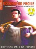 Librairie musicale ACCORDEON FACILE VOL1 + CD
