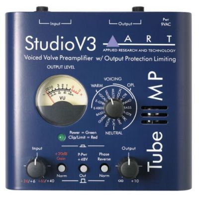 Synthés & Home studio ART Tube MP Studio V3 Pré ampli