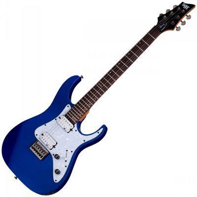 Guitare Electrique Schecter SGR Banshee 6 Blue + Housse