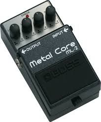 Effets Instruments Boss metal core ML2