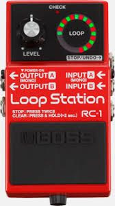 Effets Instruments Boss station RC1