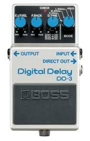Effets Instruments Boss digital dilay DD3