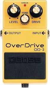 Effets Instruments Boss overdrive OD3