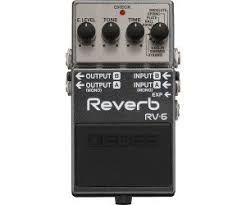 Effets Instruments Boss reverb RV6