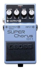 Effets Instruments CH1 SUPER CHORUS STEREO