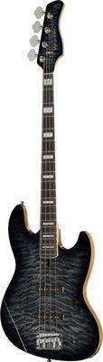 Guitare Basse Sire Marcus Miller V9 Swamp Ash Transparent Black