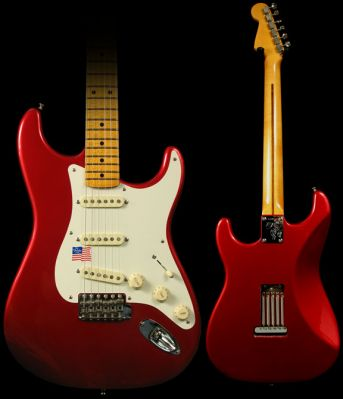 Guitare Electrique FENDER Eric Johnson Stratocaster / Candy Apple Red