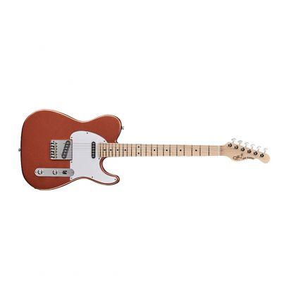 Guitare Electrique G&L USA Fullerton Standard ASAT Classic Spanish Copper + Housse