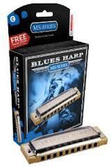 Instruments à vent HARMONICA HOHNER BLUES HARP MS
