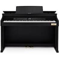 Claviers & Pianos Casio AP 710 bk