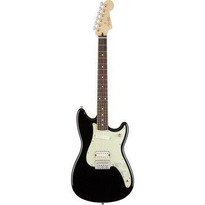 Guitare Electrique Fender Mexican Duo-Sonic HS PF Black