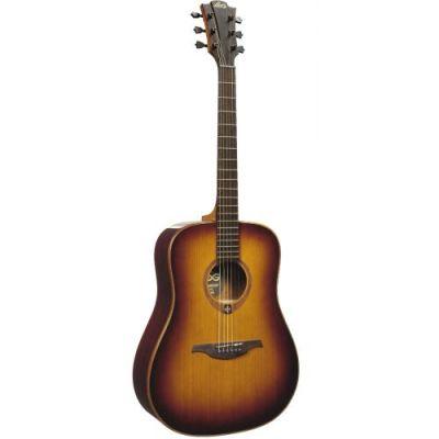 Guitare Folk/Western Lag T100 D Brown Shadow