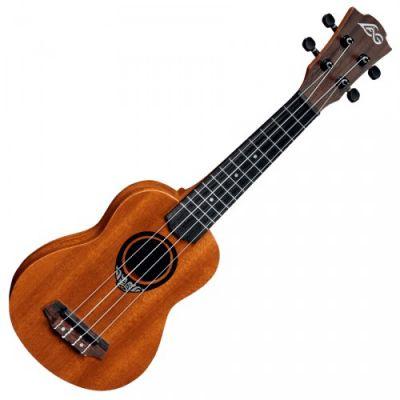 Instruments à cordes Ukulélé Concert LAG TKU 110 C