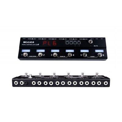 Effets Instruments Mooer PCL6 Pédalier Controle Loop