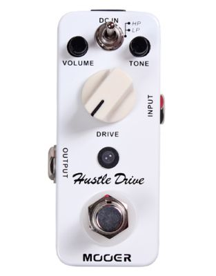Effets Instruments Pédale MOOER Hustle Drive (Distortion Pedal)