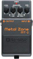 Effets Instruments Boss MT-2 Metal Zone