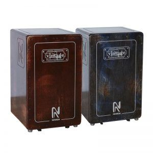 Batterie & Percu CAJON VINTAGE ROUGE OU BLEU