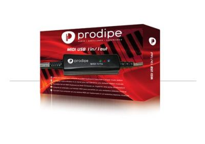 Synthés & Home studio Prodipe 1i1o Interface USB Midi