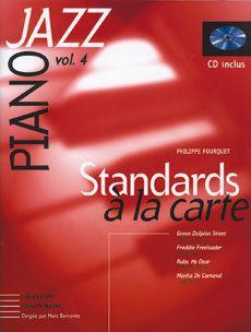 Librairie musicale STANDARDS A LA CARTE VOL4