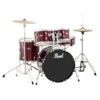Batterie & Percu PEARL ROADSHOW STAGE 22 5 FUTS RED WINE