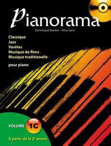 Librairie musicale PIANORAMA VOL 1C
