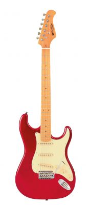 Guitare Electrique PRODIPE GUITARS ST80MA CANDY RED