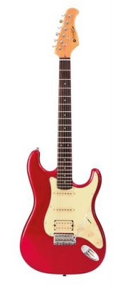 Guitare Electrique PRODIPE GUITARS ST83RA CANDY RED