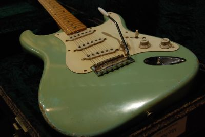 Guitare Electrique REBELRELIC 55 S SERIES SURF GREEN
