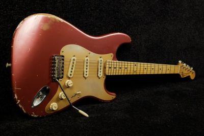 Guitare Electrique REBELRELIC 1956 S-SERIES BURGUNDY MIST