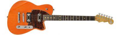 Guitare Electrique  REVEREND FLATROC ROCK ORANGE