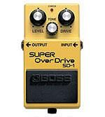 Effets Instruments SD1 SUPER OVERDRIVE