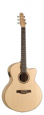Guitare Folk/Western NATURAL ELEMENTS CHERRY MINI JUMBO CUT ACI.5T
