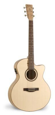 Guitare Folk/Western NATURAL ELEMENTS AMBER TRAIL MINI JUMBO CUT ACI.5T