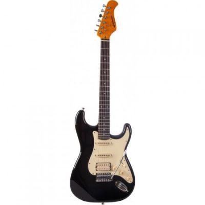 Guitare Electrique Prodipe Strato Noir ST73RA BLK