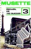 Librairie musicale 110 SUCCES MUSETTE VOL3