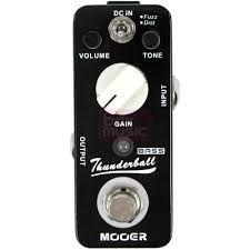 Effets Instruments Pédale MOOER Thunderball (Bass Fuzz Pedal)
