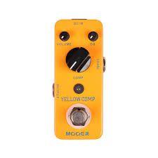 Effets Instruments Pédale MOOER Yellow Comp (Compressor)