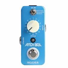 Effets Instruments Pédale MOOER Pitch Box (Harmony Pitch Shifting Pedal)