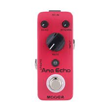 Effets Instruments Pédale MOOER Ana Echo (Analog Delay Pedal)